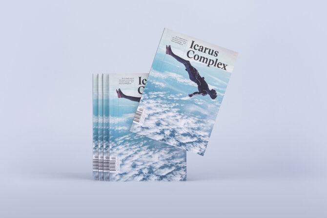 "Impressão offset premium da revista ""Icarus Complex"" 01"