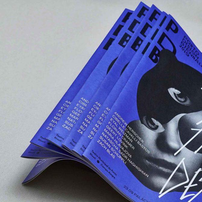 """Impressão offset premium dos jornais """"Porto design Biennal"""" 01"""