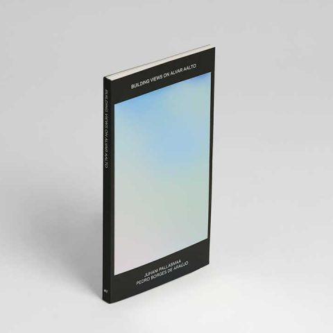 """Impressão offset premium do livro """"Building Views"""". Acabamento especial: Estampagem 01"""