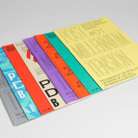 """Impressão offset premium dos jornais """"Porto design Biennal"""" 02"""