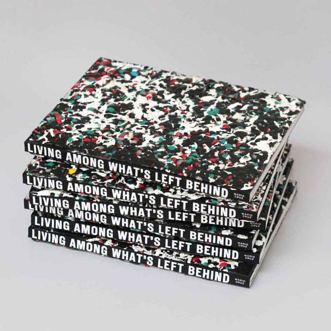 """Impressão offset premium do livro """"living among what's left Behind"""". Acabamento especial 02"""