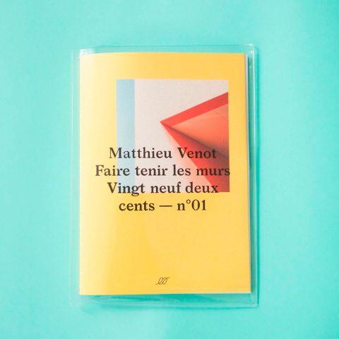 Impressão offset premium do livro de Matthieu Venot 01