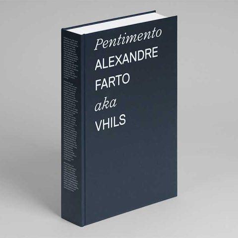 """Impressão offset premium do livro """"Pentimento de Alexandre Farto aka Vhils"""" 02"""