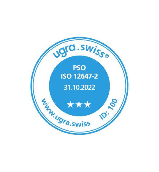 Somos sustentavelmente certificados: ISO