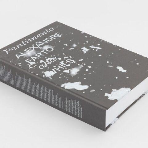 """Impressão offset premium do livro """"Pentimento"""". 02"""