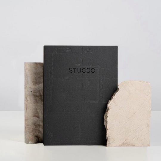 Impressão offset premium livro stucco 1