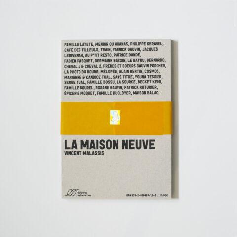 Impressão offset premium desdobrável La Maison Neuve 2