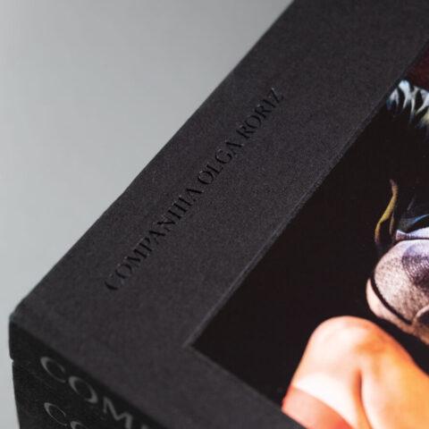 Impressão offset premium livro Companhia Olga Roriz