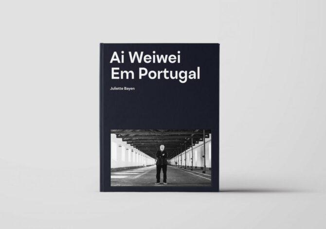 Impressão offset premium livro Ai Weiwei